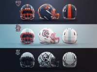 Revolution Speed Helmet Template
