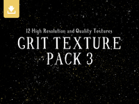 12 Quality Gritty Textures - Pack No.3