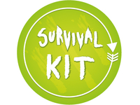 Survival Kit -sticker