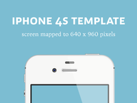 iPhone 4S Detailed Template