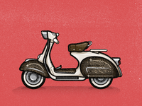 Vespa Tribute to Ines Gamler