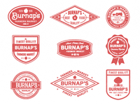 Burnap's badges
