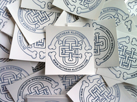OTE Monogram Stickers