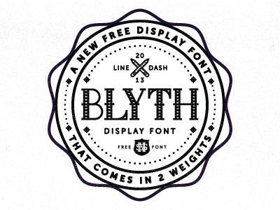 Download Blyth Font
