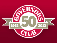 Govs Club 50th Anniversary Mark
