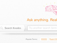 Knodes Search Bar