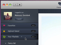 YouTube player for MacOSX ui (second version)