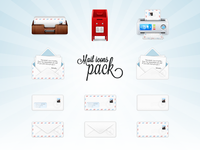 Mail icons pack