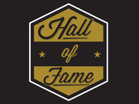 Hall of Fame Badge