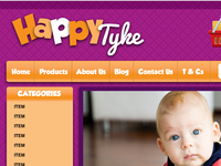 Happy Tyke Website