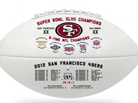 49ers Super Bowl Souvenir Ball