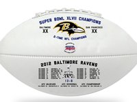 Ravens Super Bowl Souvenir Ball