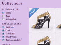 jQuery Product Filter for a Shoe Store