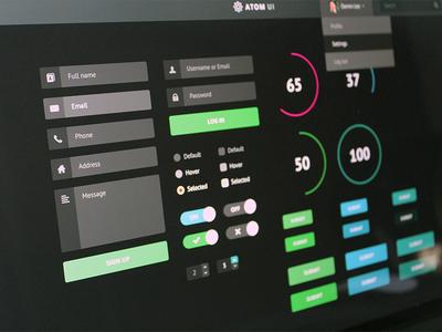 Atom UI Kit
