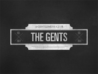 THE GENTS - a gentlemens club
