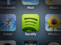Spotify for iOS, iPhone, iPad icon