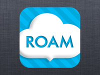 iPhone App icon for ROAMbaby