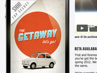 The Getaway iPhone App