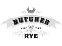 Butcher and the Rye Restaurant final logo