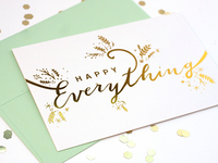 Happy Everything Holiday Card
