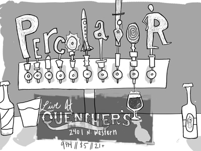 Percolator-taps
