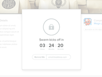 Swarm Kicks Off