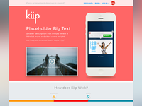 New Kiip Homepage Concept
