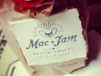 Mac & Jam Logo in Action