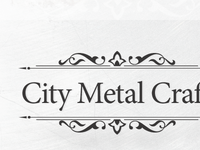 Text Shadow City Metal Craft