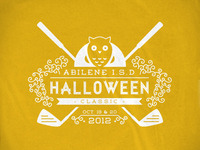 Halloween Golf Tournament Tee