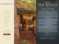 Rancho Caymus Website Design