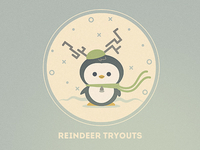 Reindeer Tryouts