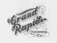 Grand Rapids Brewing Sketch