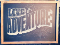 Live For Adventure Alternative
