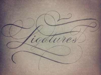 Ligatures-dribbble