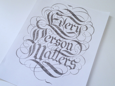 Every Person Matters Sketch