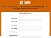 Dribbble Cympel Form