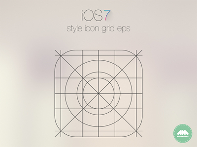 Download iOS 7 App Icon Grid