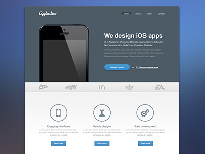 Download Apptastico – A freebie web design