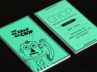 CROP business card