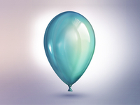Balloon sea-green