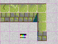 Game Preview, Tiles: mossy wall