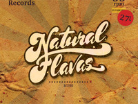 Natural Flavas - New Album Design - Front Cover 3