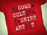"""Become a Cultera Artist"" T-Shirt ..."