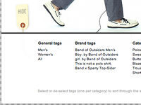 Band of Outsiders Online Shop