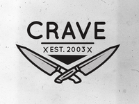 Crave Catering Logo Concepts v.1