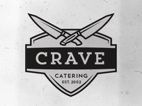 Crave Catering Logo Concepts v.2