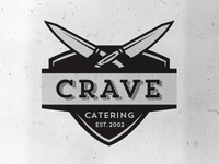 Crave Catering Logo Concepts v.3
