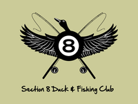 Section 8 Duck & Fishing Club Logo