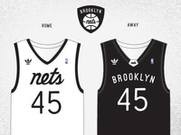 Brooklyn Nets Uniforms
